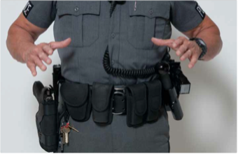 Image result for Security Officer Duty Belt Configurations